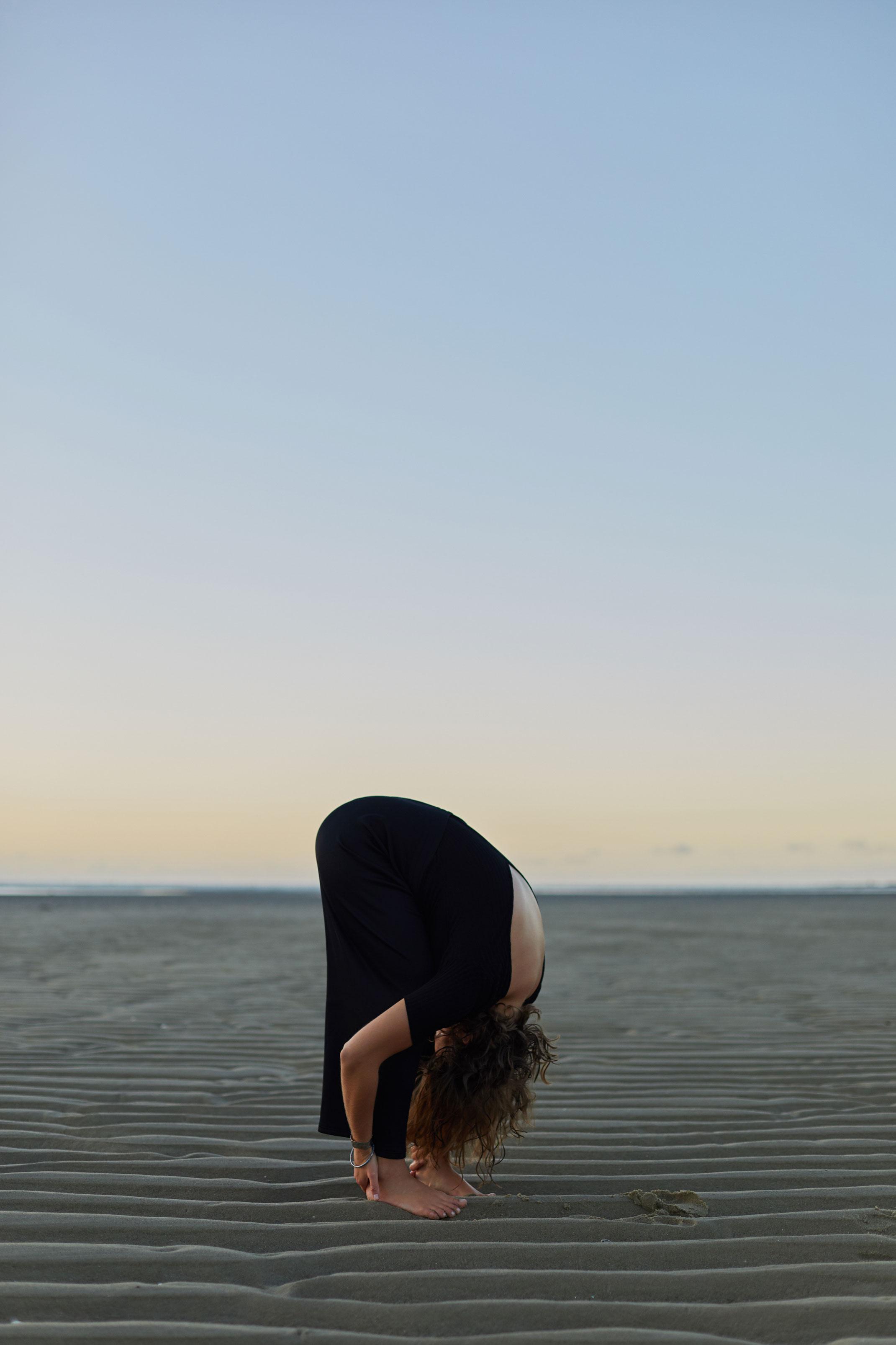 photographe lifestyle mode et portrait pour Elizabeth Madoré, professeur de yoga