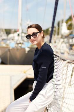 photographe pour a l'aise breizh, campagne de pub pour pull marin