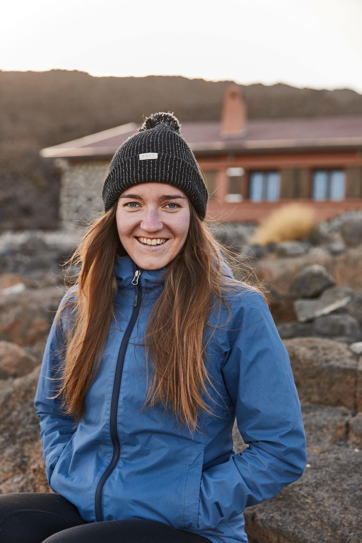 photographe outdoor refuge volcan randonnee reportage portrait
