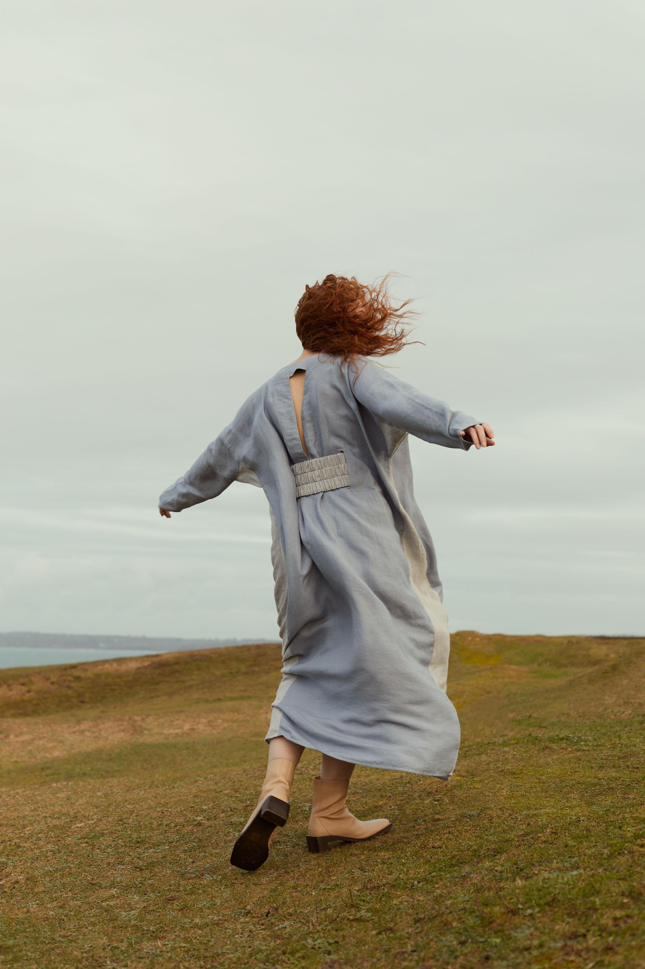 photographe mode et portrait pour une campagne pour nolwenn faligot en bretagne