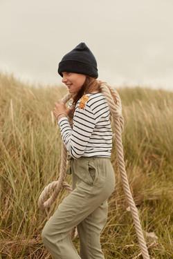 photographe mode et lifestyle pour campagne publicitaire en Finistère