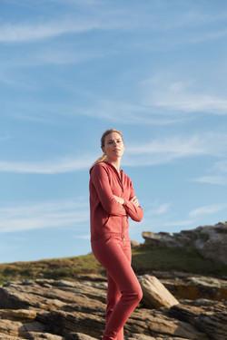 photographe mode et lifestyle en Bretagne pour la marque Dance Fiber