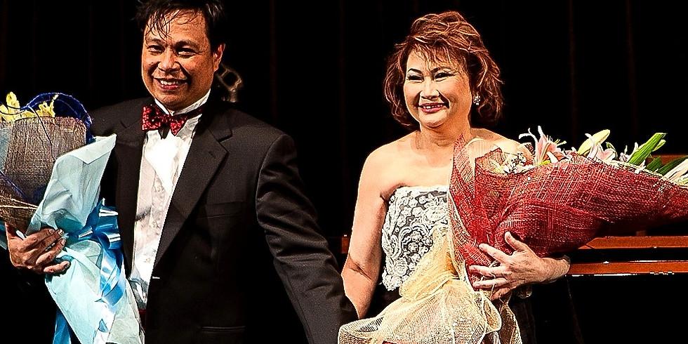 DUO TEKLADO     Marites Fernandez and Rene Dalandan