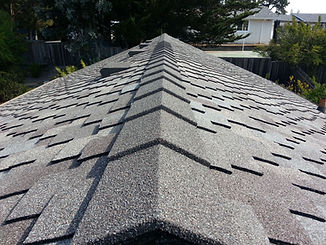 Speed Ridge stone coated metal roof trim