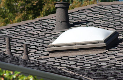 Flex-Stone covering various roofing accessories