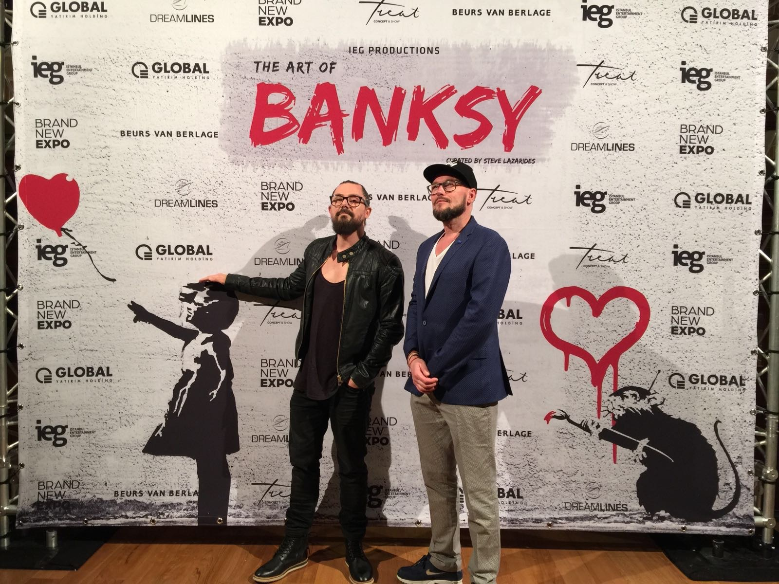 we made a soundtrack for Banksy Exposition