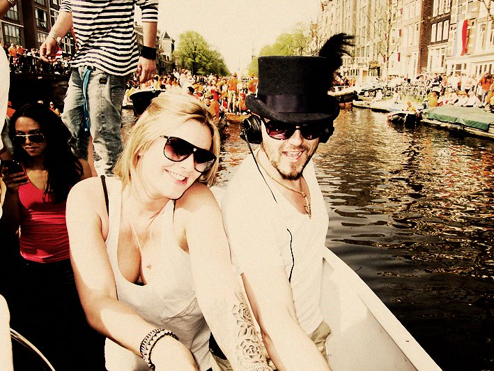 With Marcella Queensday Amsterdam