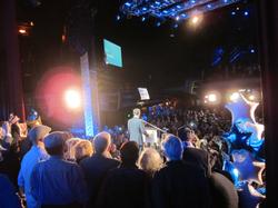 Eric Garcetti Election Night Avelon Hollywood audience view