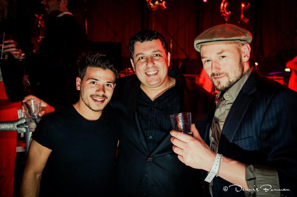 with Geza Weisz, Robert Vuijsje,