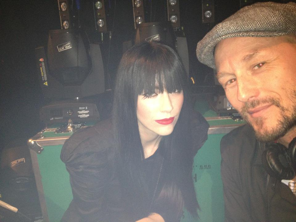 with Audrey Napoleon, Heineken