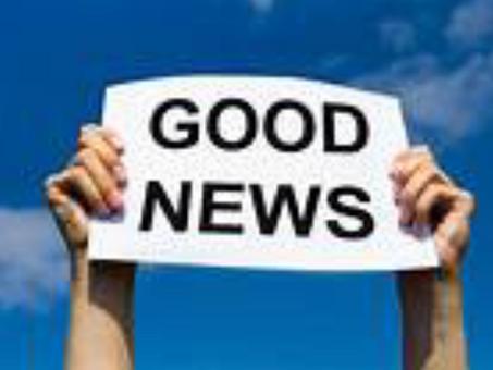 Positive News!