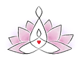 logo website gekleurde blaadjes violet a