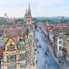 High Street, Oxford 30 x 24 in..jpg