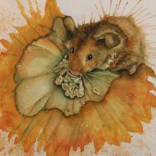 british wildlife artist pumpkin  waterco
