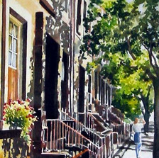 W 8th Avenue, Greenwich Village, NY by J