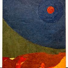 The Denia series Moon oil on canvas 120x