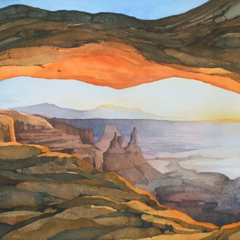Mesa Arch, Canyonlands Utah by Jennie Gr