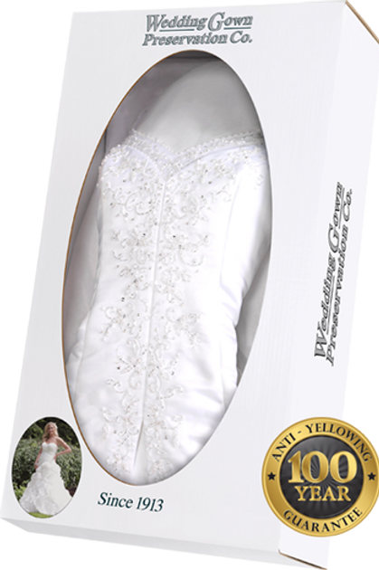 Traditional Wedding Gown Preservation Kit