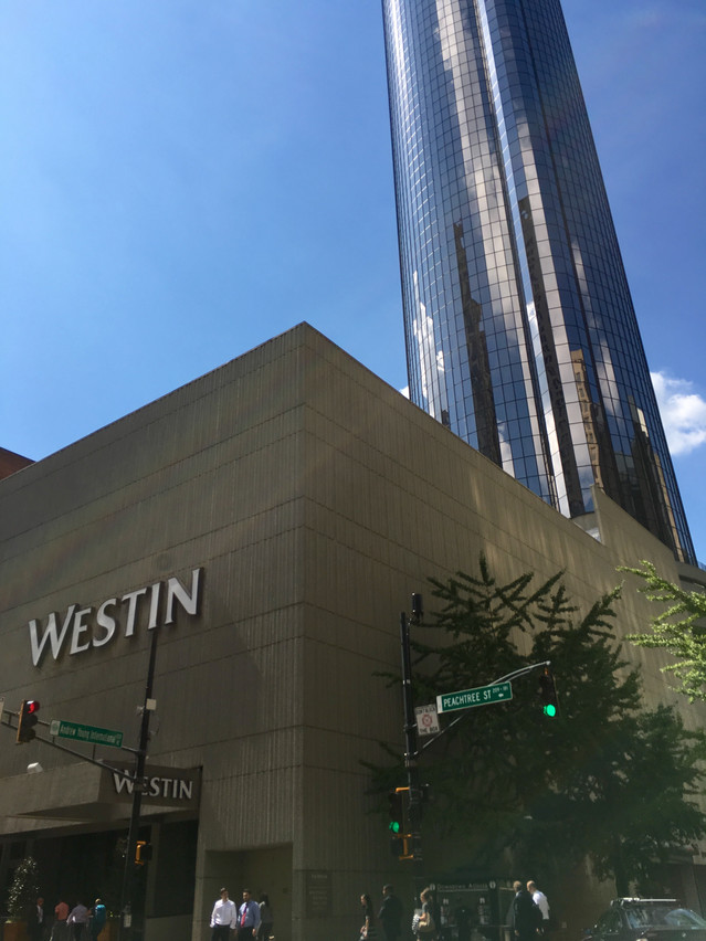 Our hotel-73 Story Peachtree Westin