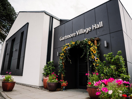 Welcome to our Gartmore Village Hall Wedding Blog