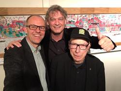 mit Alex Ebi und Louis v.d.Haegen