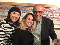 mit Sophia und Tanja