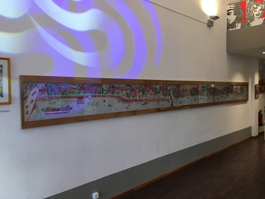 Unser Basel über 7 Meter lang