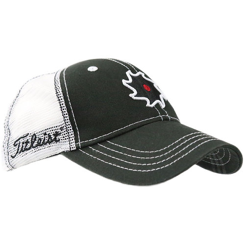 Vokey Design SAW & Titleist Logo Limited Mesh Cap (Black/White) フリーサイズ