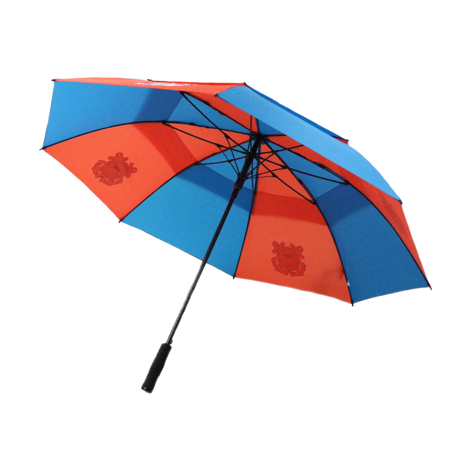 U.S. Coast Guard Double Canopy Umbrella-