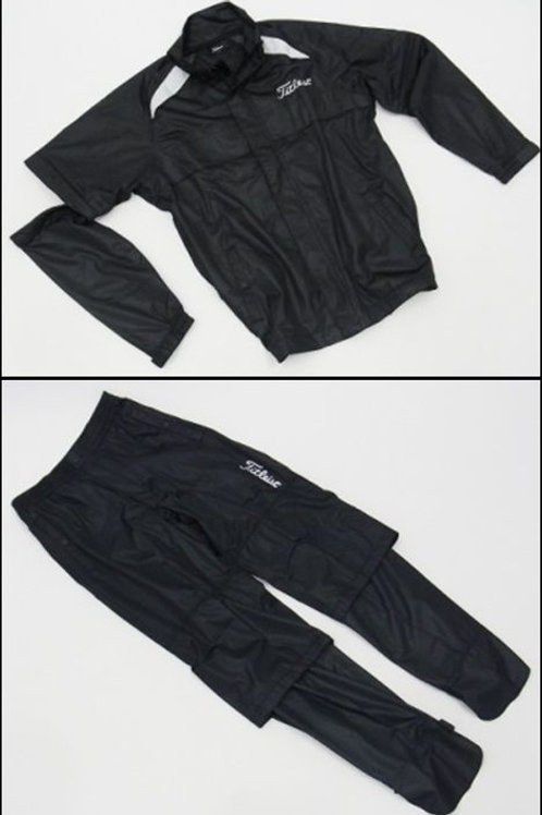 Titleist Rain Jacket & Pants (Black)