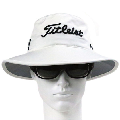 Titleist-StaDry-Rain-Bucket-Hat-(White)-