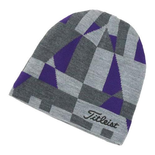 Titleist  ニットキャップ  リバーシブル (Grey/Purple)