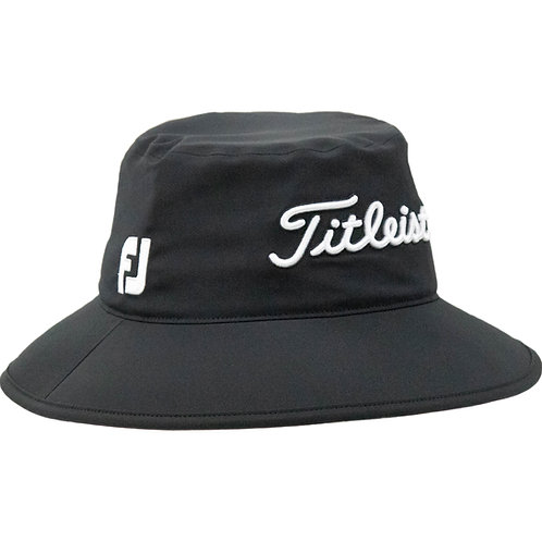 Titleist StaDry Rain Bucket Hat (Black)