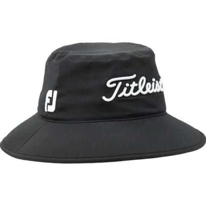 Titleist-StaDry-Rain-Bucket-Hat-(Black)-