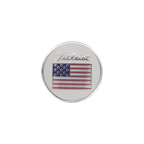 Titleist Flag Ball Marker Small (USA)