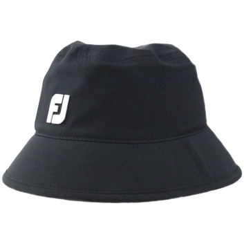 FootJoy DRYJOYS Rain Bucket Hat (Black)-