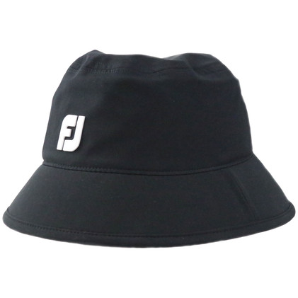 FootJoy DRYJOYS Rain Bucket Hat (Black)-