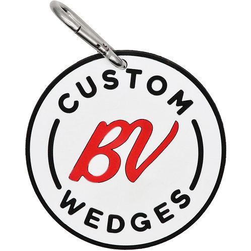 """旧 Vokey Design Rubber Chipping Disc """"CUSTOM BV WEDGES"""" (Red)"""