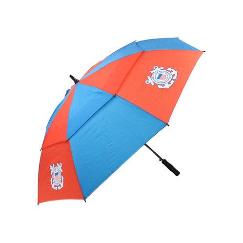 U.S. Coast Guard Double Canopy Umbrella