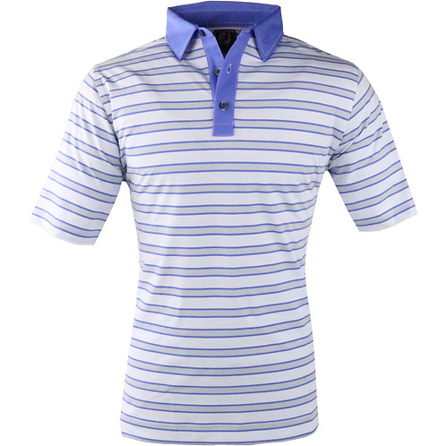 Vokey & FJ Multi Stripe Self Collar White+Grey/Purple