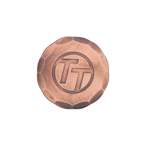 "Titleist Hand Forged Ball Marker""Team Titleist""(Copper)"