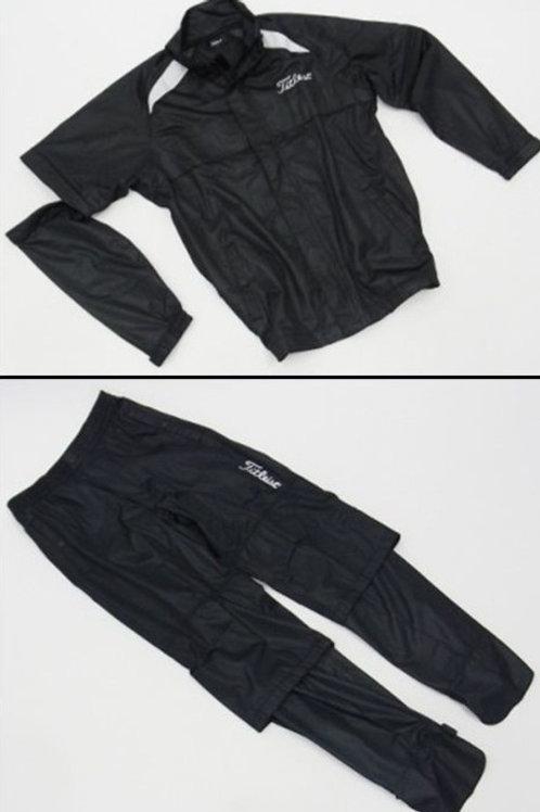 複製 Titleist Rain Jacket & Pants (Black)