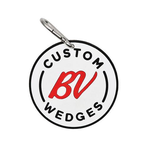 "Vokey Design Rubber Chipping Disc""CUSTOM BV WEDGES"" (Red)"