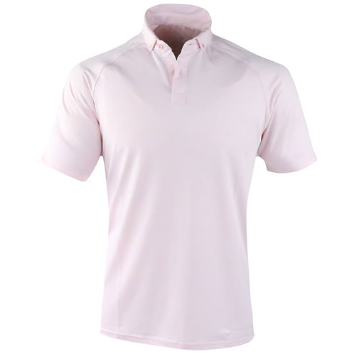 IJP European Button Down Polo 2 Button (Cherry Pink)