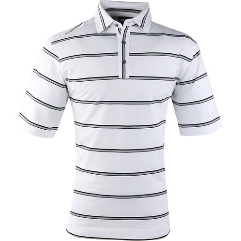 Vokey & FJ Open Stripe White+Heather Grey/Black Self Collar