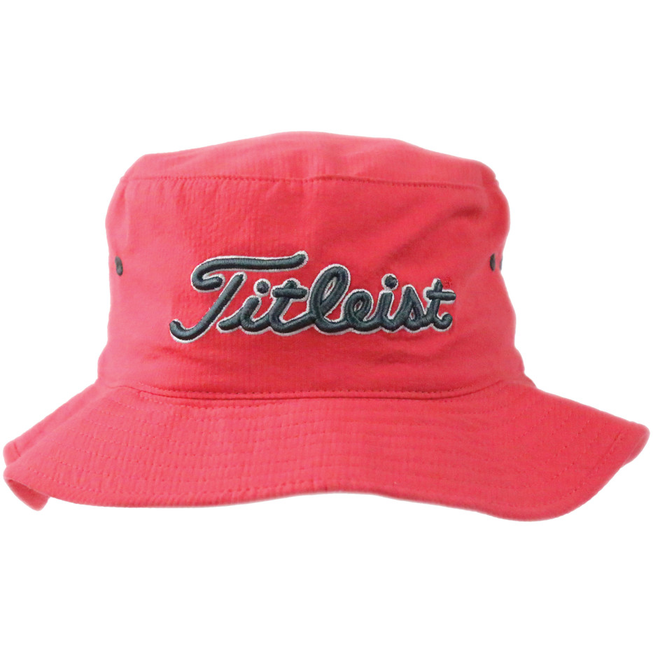 Titleist Bucket Hat (RedGray)-3.jpg