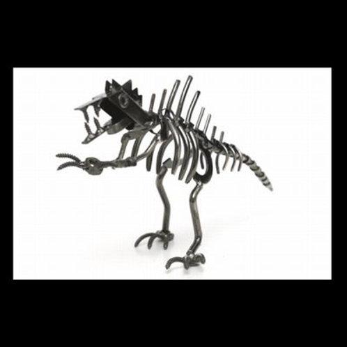 """Metal Welded Art """"The T-Rex"""""""