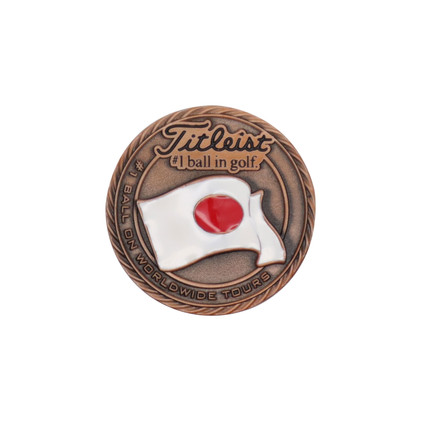 Titleist-Flag-Metal-Ball-Marker-japan-(L