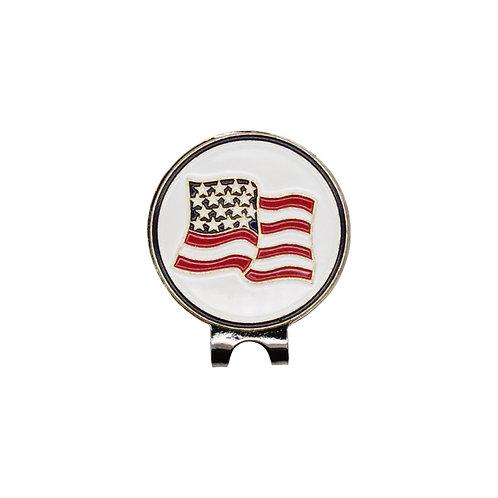 PGA American Flag Ball Marker