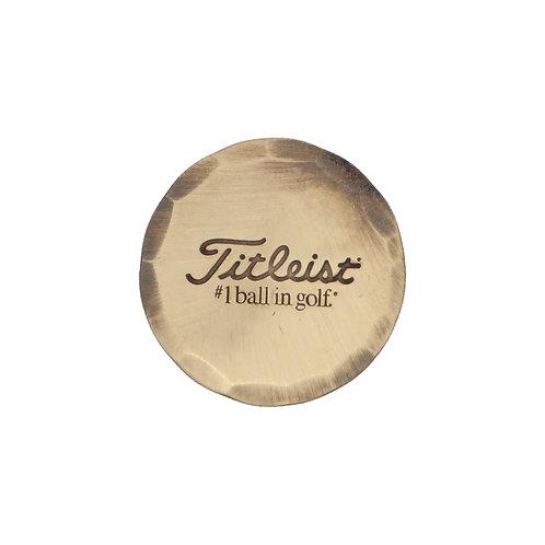 Titleist Hand Forged Ball Marker (Bronze)